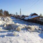 Порыв на водоводе в Лесном