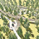 Реконструкция парка в Лесном